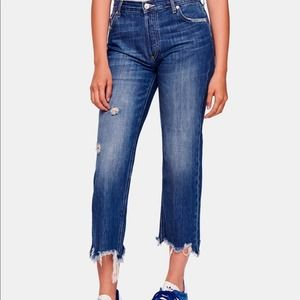 We The Free Free People Maggie Straight Leg Jeans